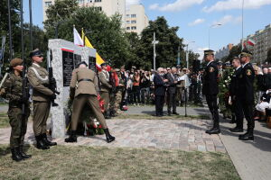"""Upamiętniono wyzwolenie Żydów z obozu """"Gęsiówka"""""""