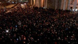 """""""Stop nienawiści"""". Manifestacja po śmierci prezydenta Gdańska"""