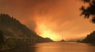 Pożar wybuchł we wrześniu 2017 roku (U.S. Forest Service/Flickr (domena publiczna))