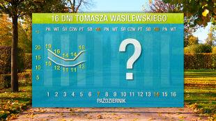 Pogoda na 16 dni: czasami mniej niż 10 stopni