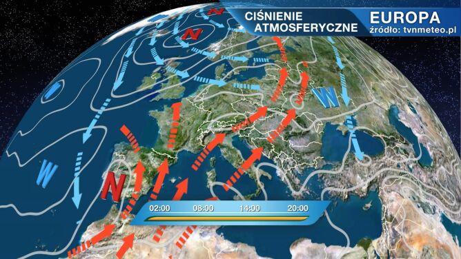 Do Polski płynie gorące powietrze zwrotnikowe