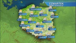 Pogoda na czwartek 28.05
